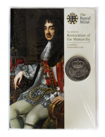 2010 £5 Royal Mint Brilliant Uncirculated pack